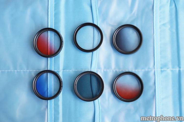 Sáu kính lọc đa năng và túi đựng