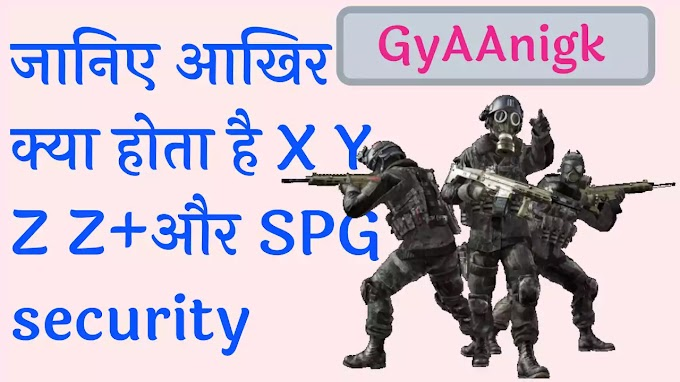 Aakhir Kya Hai X Y Z Z+ Aur SPG Security Pdf - GyAAnigk