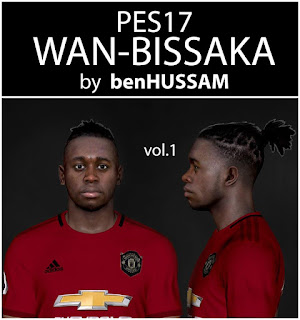 PES 2017 Faces Aaron Wan-Bissaka by BenHussam