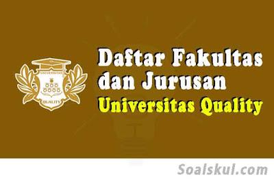 daftar fakultas jurusan uq medan
