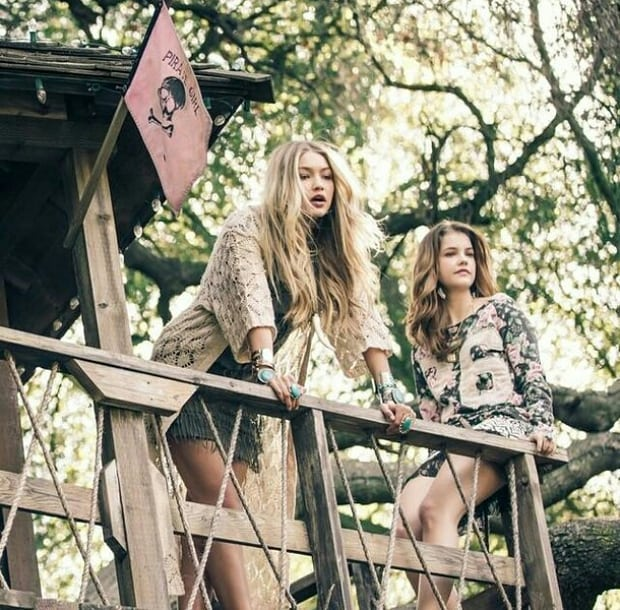 Gigi Hadid and Barbara Palvin New Photoshoot