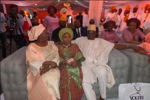 Governor Ayo Fayose's Daughter Gets Married Into The Odunlade Royal Family