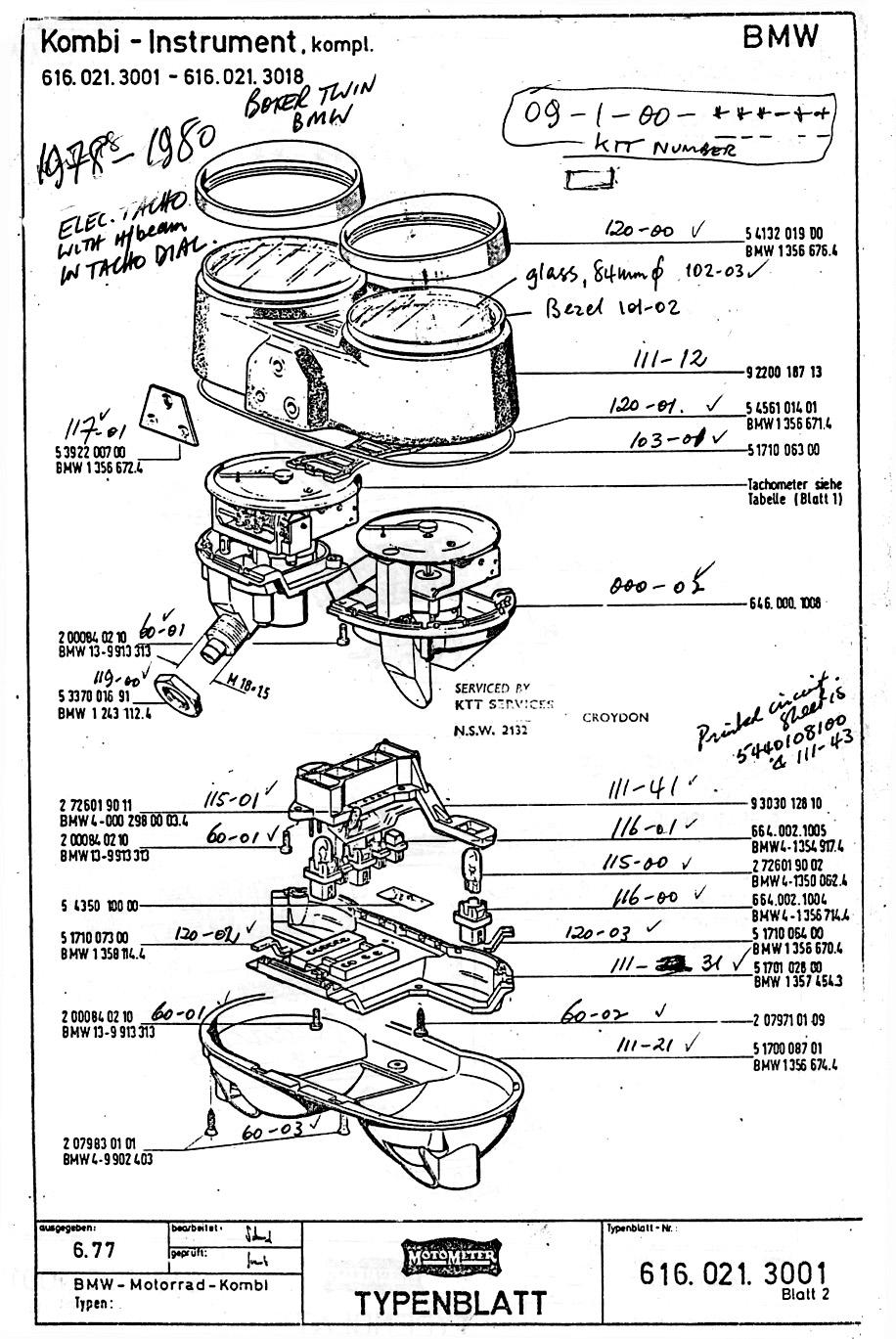 1978 bmw r100 wiring diagram