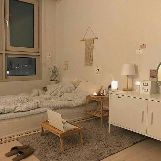 Nghiện decor phòng ngủ: Cách trang trí phòng trọ đẹp
