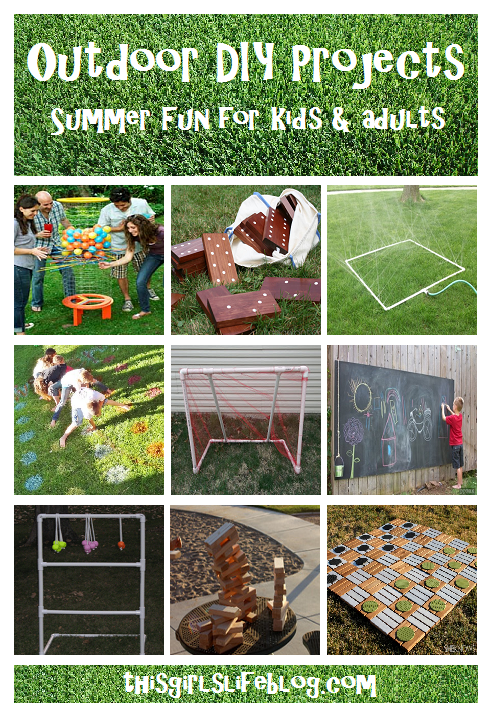 Outdoor DIY Projects: Summer Fun for Kids & Adults