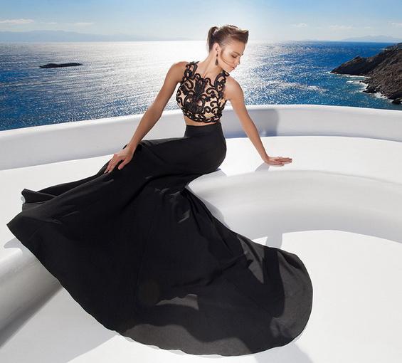 vestidos modernos para fiestas