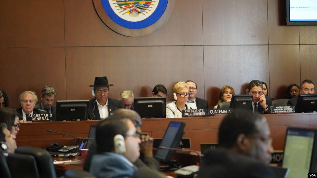 El canciller boliviano, Diego Pary, dijo a reporteros en Washington que su gobierno está dispuesto a reconocer los resultados de la auditoría de la OEA / VOA