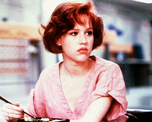Chatter Busy: Molly Ringwald Hair |Molly Ringwald Breakfast Club Hair