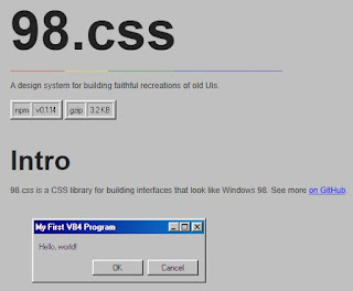 98 CSS Windows98