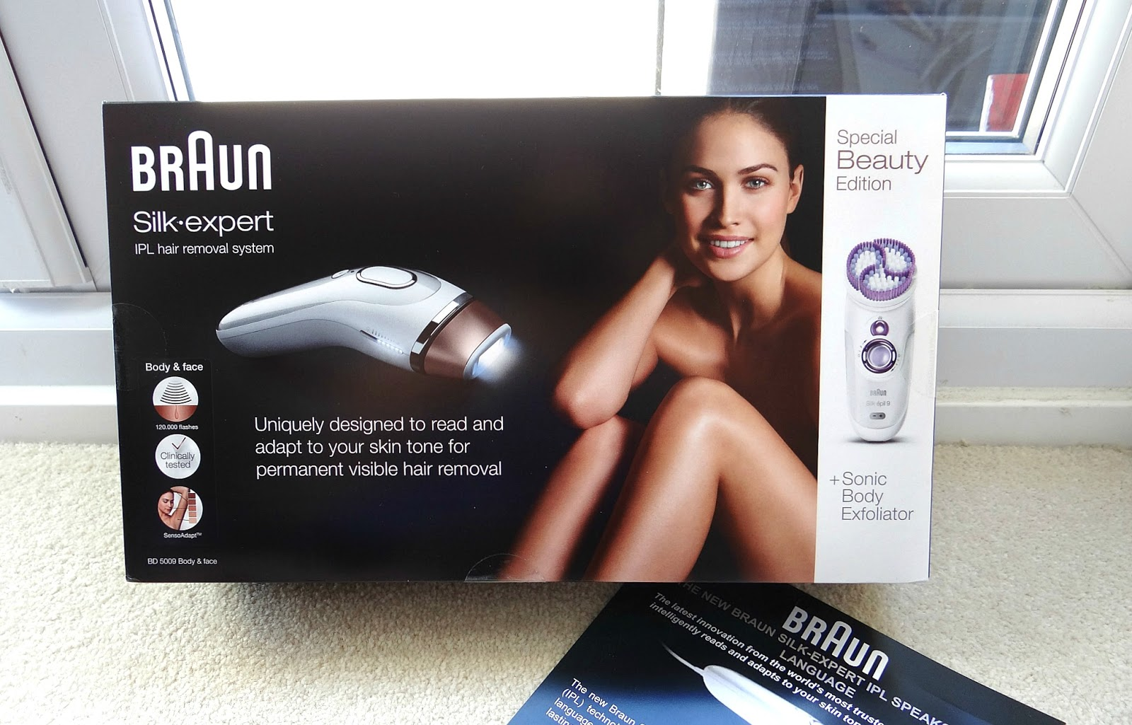 Braun IPL Hair Removal System review, Intense Pulse Light Home Treatment, 4 weeks after using IPL