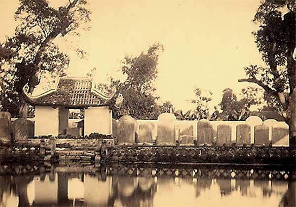 Hà Nội xưa văn miếu Quốc tử giám