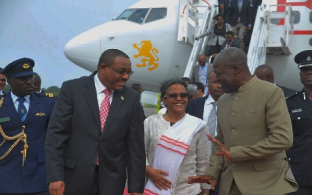 Ethiopian Prime Minister in Accra for three-day state visit