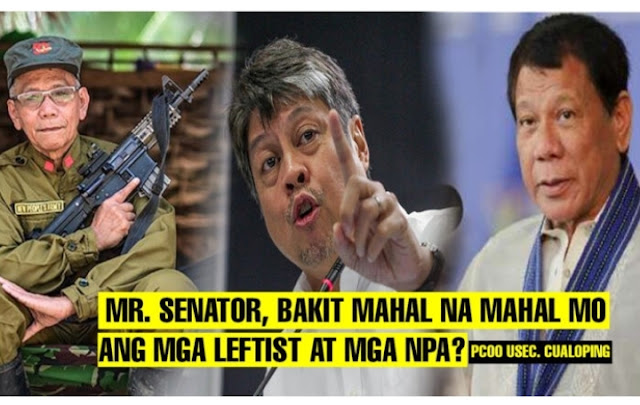 Kiko sa NPA pumanig laban sa banta na Martial Law ni Pangulong Duterte
