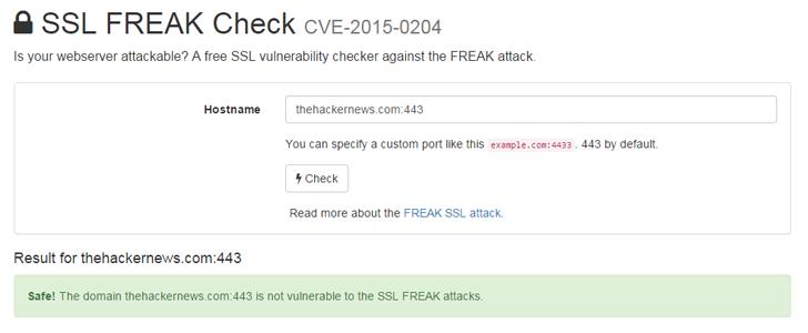 SSL/TLS EXPORT_RSA <