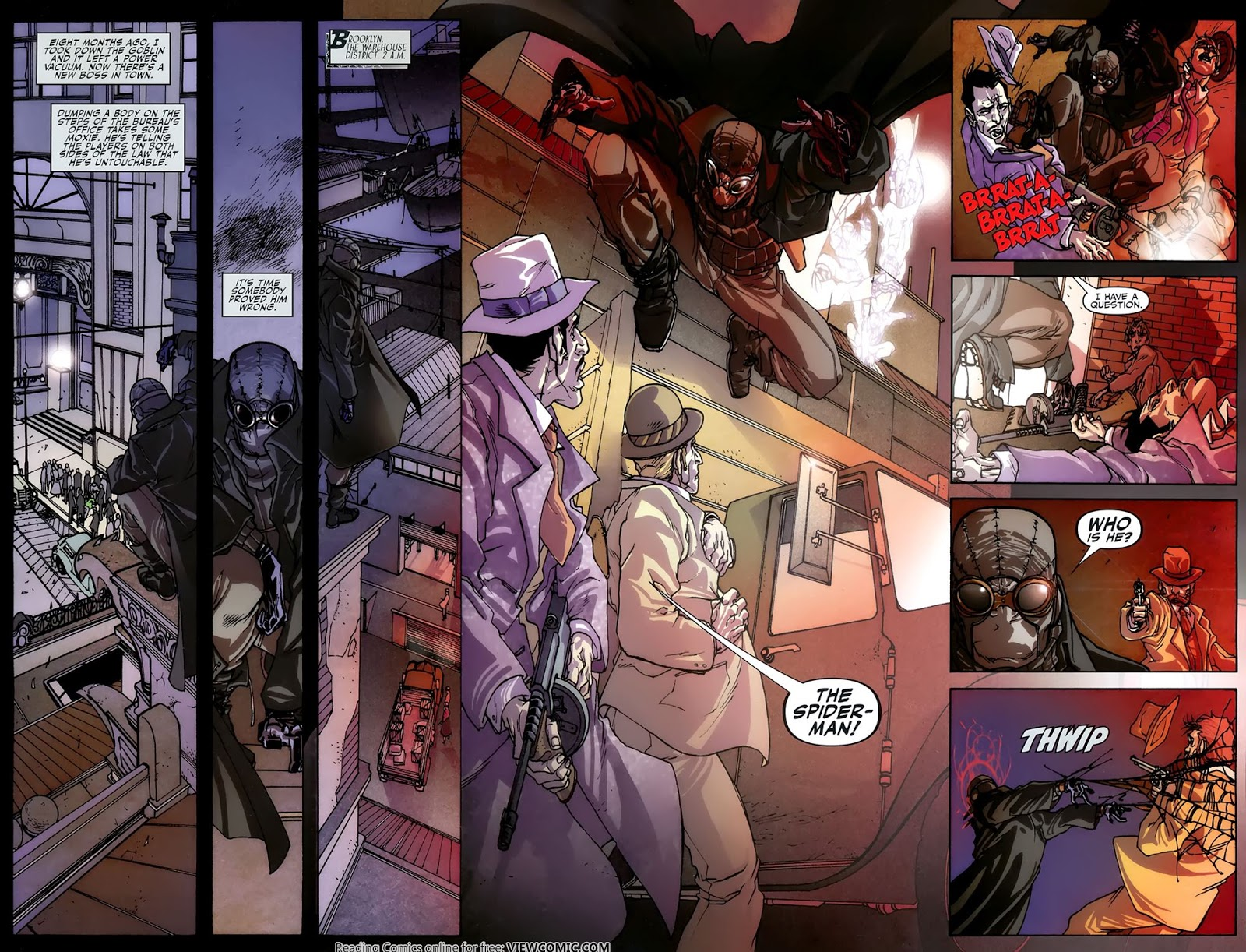 spider-man noir – eyes without a face 01 | viewcomic reading comics