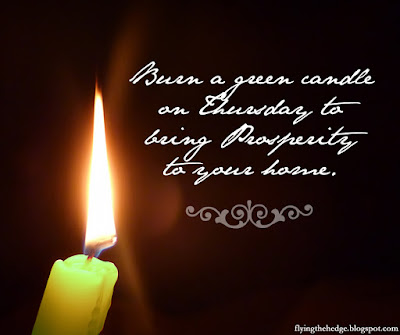 Prosperity Candle Magic