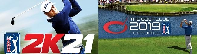 Comparison b/w PGA Tour 2K21 vs The Golf Club 2019