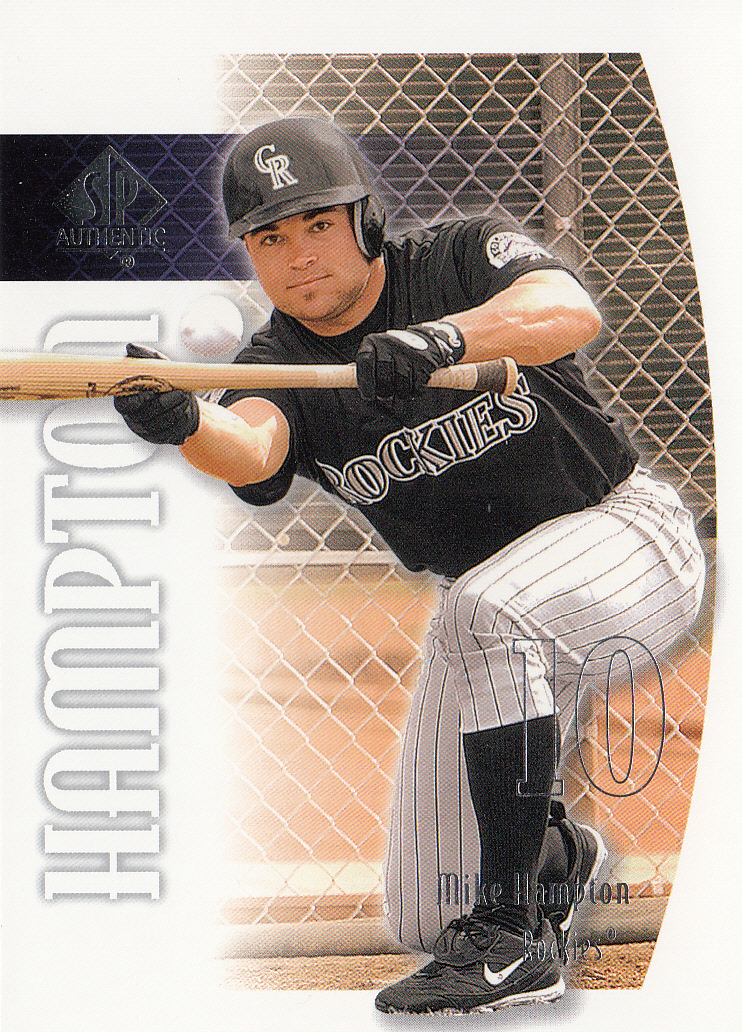 Sports Mem, Cards & Fan Shop Baseball-mlb 2019 Latest Design Mike Hampton Mets Star Hand Signed Autographed Authentic Onl Baseball