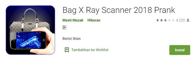 Bag X Ray Sсаnnеr Prank