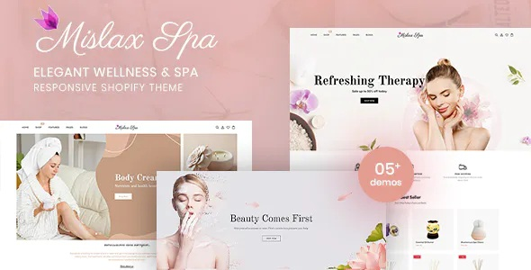 Best Elegant Spa And Wellness Shopify Theme