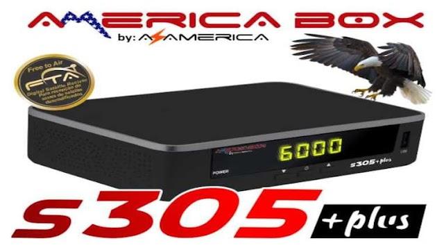 AMERICABOX S305 PLUS NOVA ATUALIZAÇÃO V1.39 - 10/09/2021