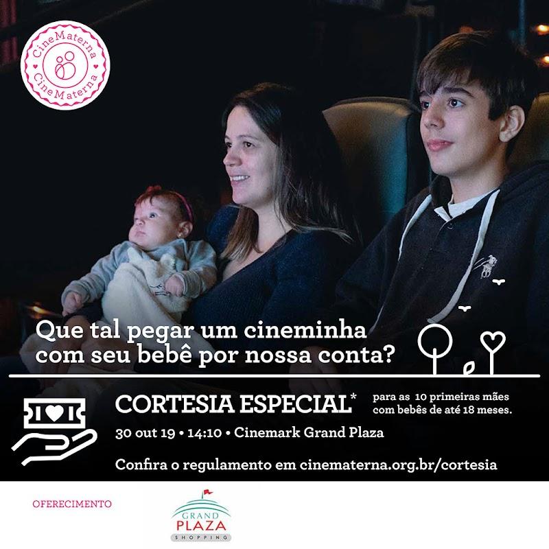 Cinematerna presenteia mães com ingresso para o Cinemark