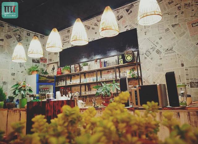 nhung quan cafe mang phong cach vintage