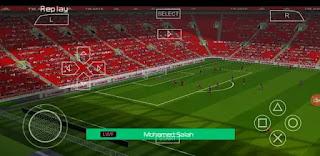 تحميل لعبة PES 2021 PPSSPP من ميديا فاير