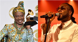 Angelique beats Burna Boy to the Emmy's