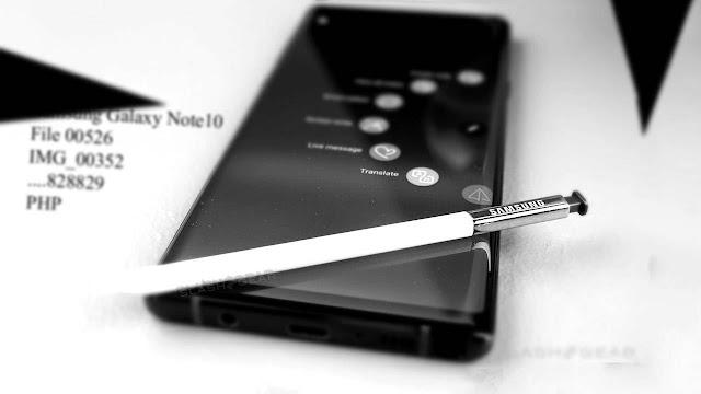 Galaxy Note 10 Pro تاريخ الإصدار والسعر والمواصفات تسرب في تفريغ كبير واحد