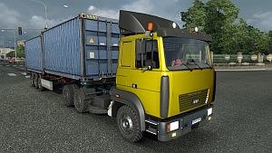 MAZ 6422M truck mod