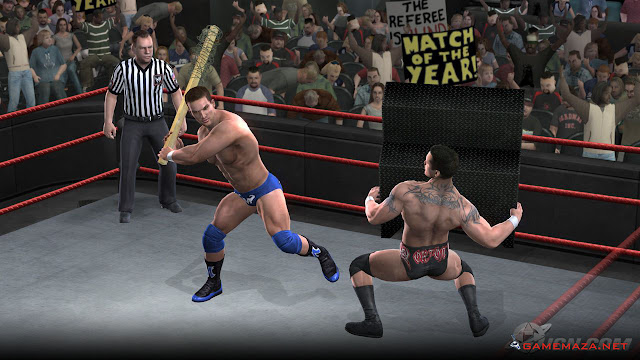WWE RAW Ultimate Impact 2009 Gameplay Screenshot 3