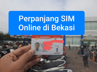 Perpanjang SIM Online Bekasi
