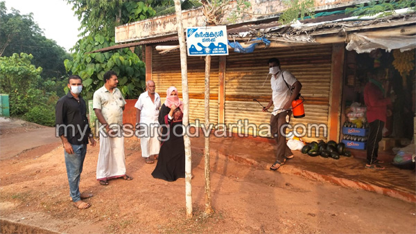 Kerala, News, Covid-19, Muliyar, Public places cleaned