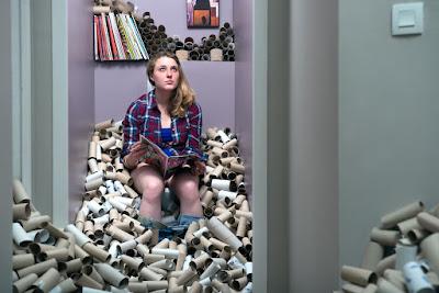 Reciclando tubos de papel de baño