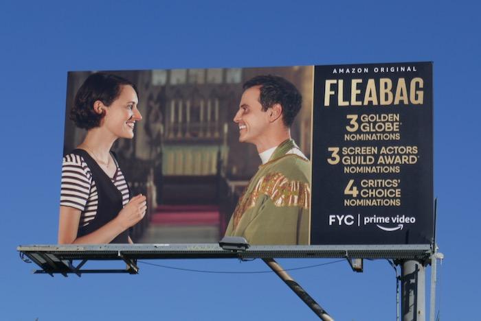 Fleabag 2020 Golden Globe nominee billboard