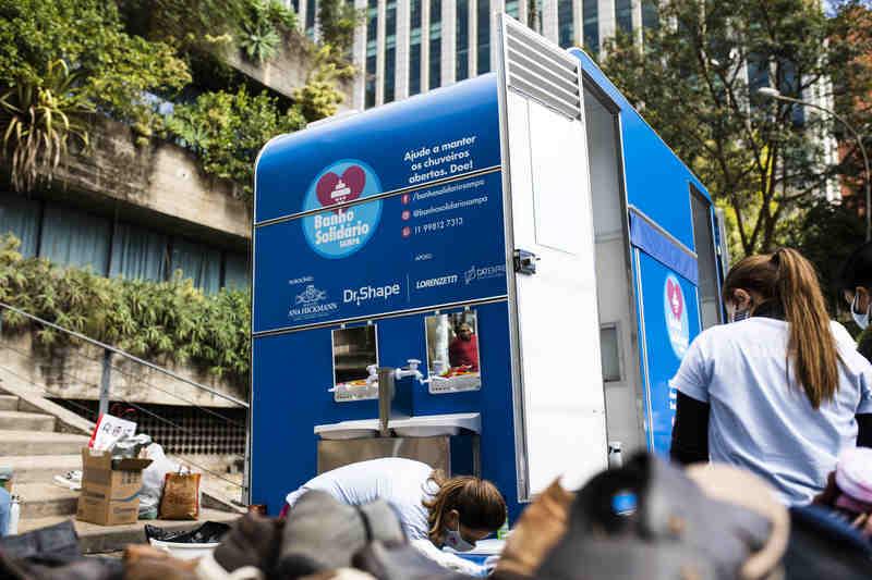 Em um momento delicado em que a higiene e cuidados pessoais são essenciais para a preservação da vida, a ONG Banho Solidário Sampa, promove ações sociais voltadas aos moradores em situação de rua em diversas regiões de São Paulo.