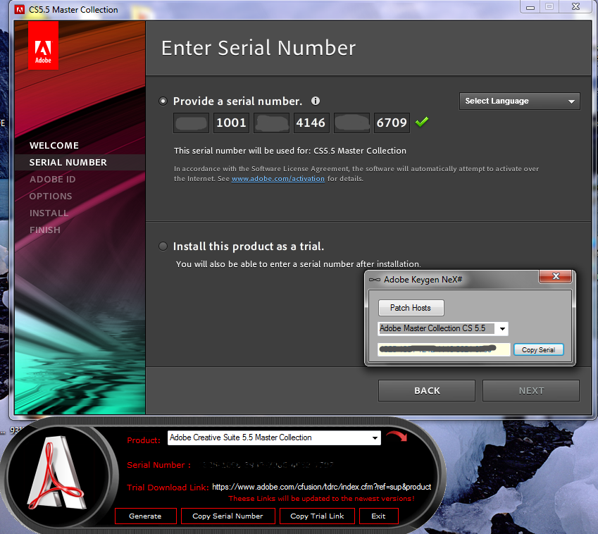key generator for mac adobe cs5
