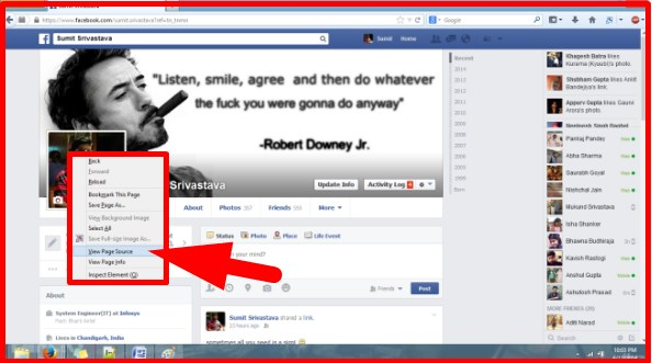how to see who viewed my facebook page