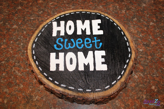 Wood Slice Wall Decor, Wood Slice Wall Decorations, Wood slice, wood slice crafts, wall decor,  wood slice paintings, wood slice sayings, wood signs, wood wall decor, wood slice ideas, wood slice art, tree stump decor, tree stump decoration, home decor, wood sign, wood stump sign, wood slice sign, DIY, DIY wall decor, DIY wood decorations, Wood decorations, Home Sweet Home, Home Sweet Home wall art, Home Sweet Home wood slice, Home Sweet Home wall decor