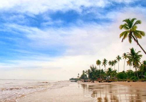 Pantai Selat Baru, Wisata Andalan Kedua Kabupaten Bengkalis