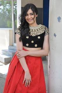 Actress Adah Sharma Latest Stills at Garam Success Meet  0037