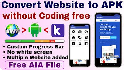 Website to apk