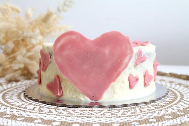 tarta proteica de café y chocolate blanco