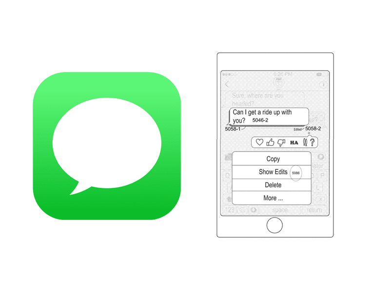 Apple iMessage patent details how users can edit SENT text messages
