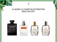 Promo Diskon 15 % Parfum Classic & Luxury Collection (Selected item), 3 - 14 Juni 2021
