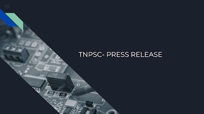 TNPSC- PRESS RELEASE