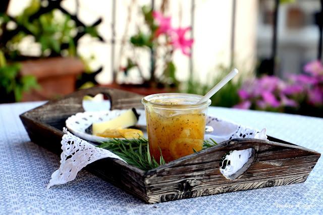 Die südliche Sonne einfangen: Marmellata di limone al rosmarino