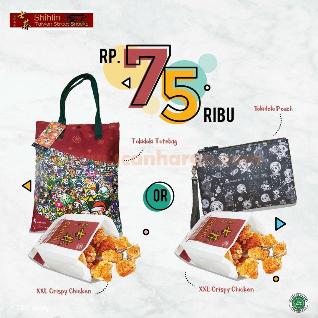 SHIHLIN Promo Paket Spesial hanya Rp 75.000 + Merchandise TOKIDOKI