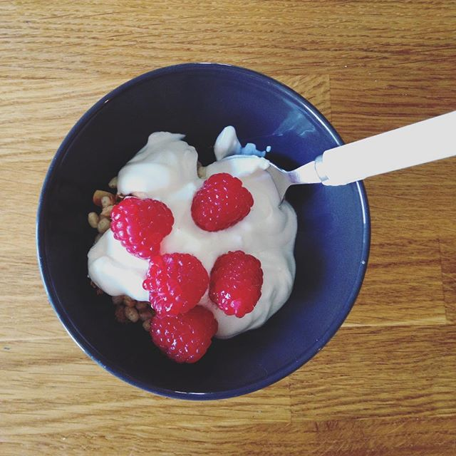 Greek yogurt and granola